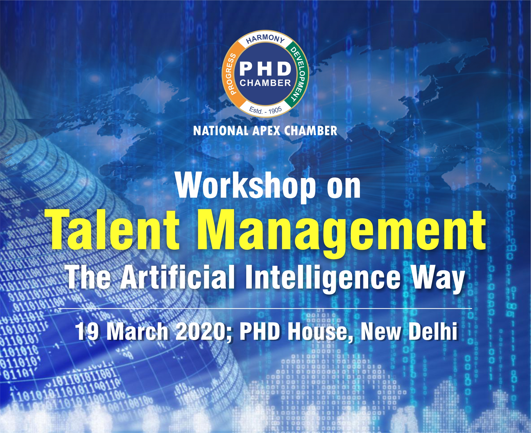 Workshop on Talent Management – The Artificial Intelligence Way