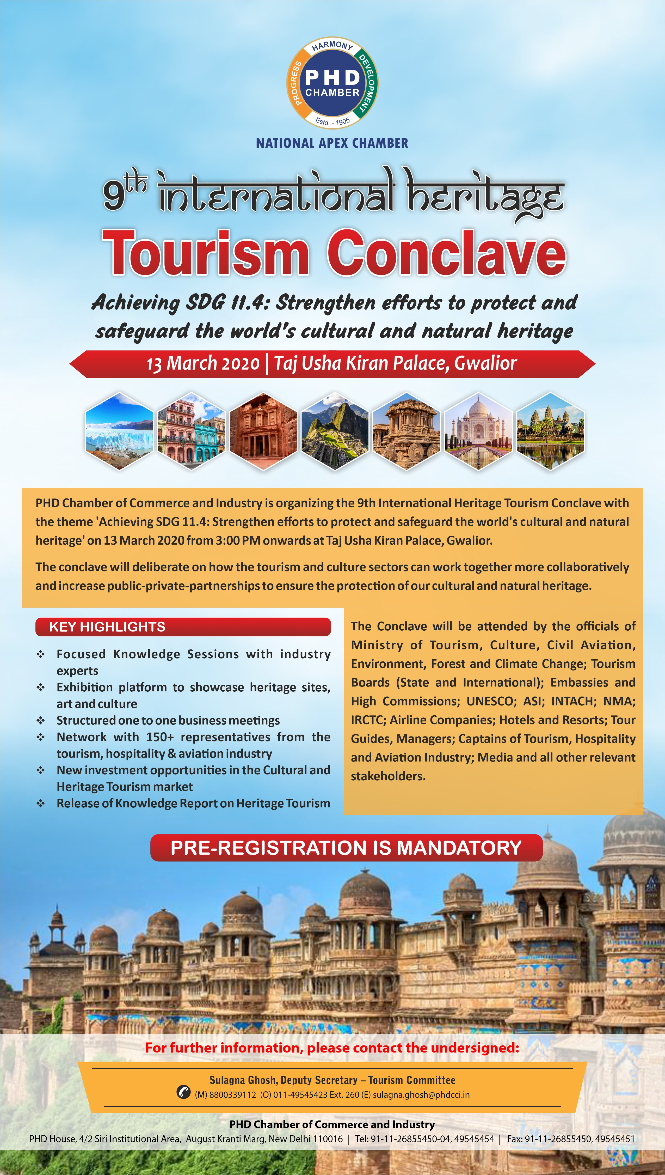 9th International Heritage Tourism Conclave