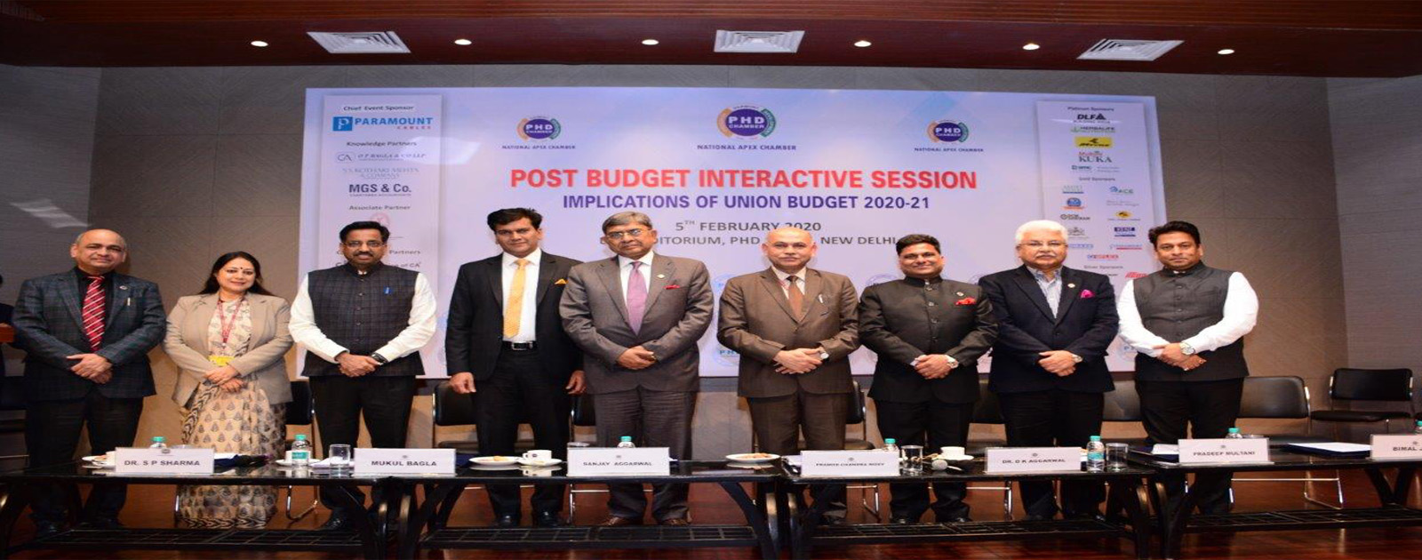Post Budget Interactive Session – Implications of Union Budget 2020-21
