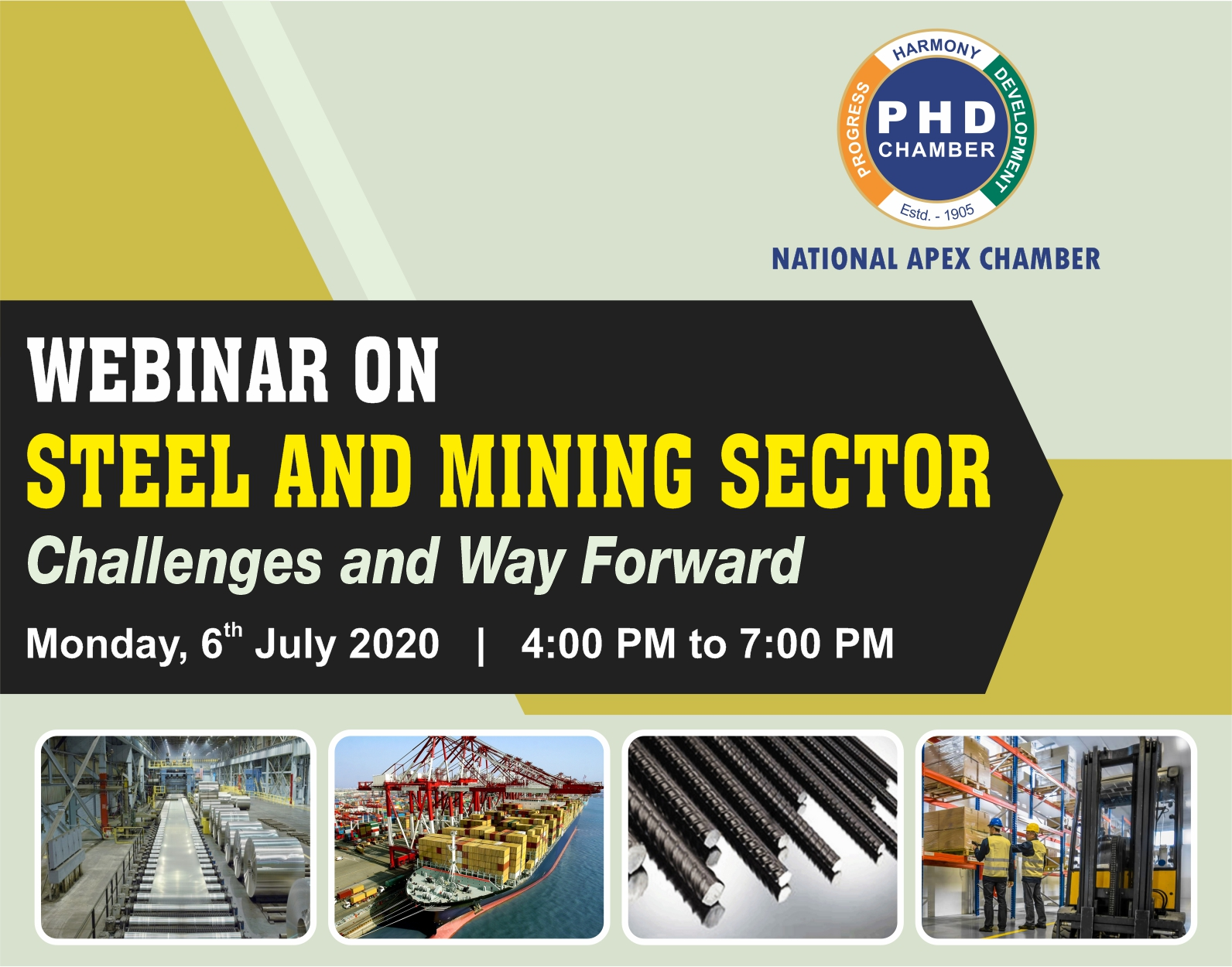 Steel and Mining Sector: Challenges and Way Forward