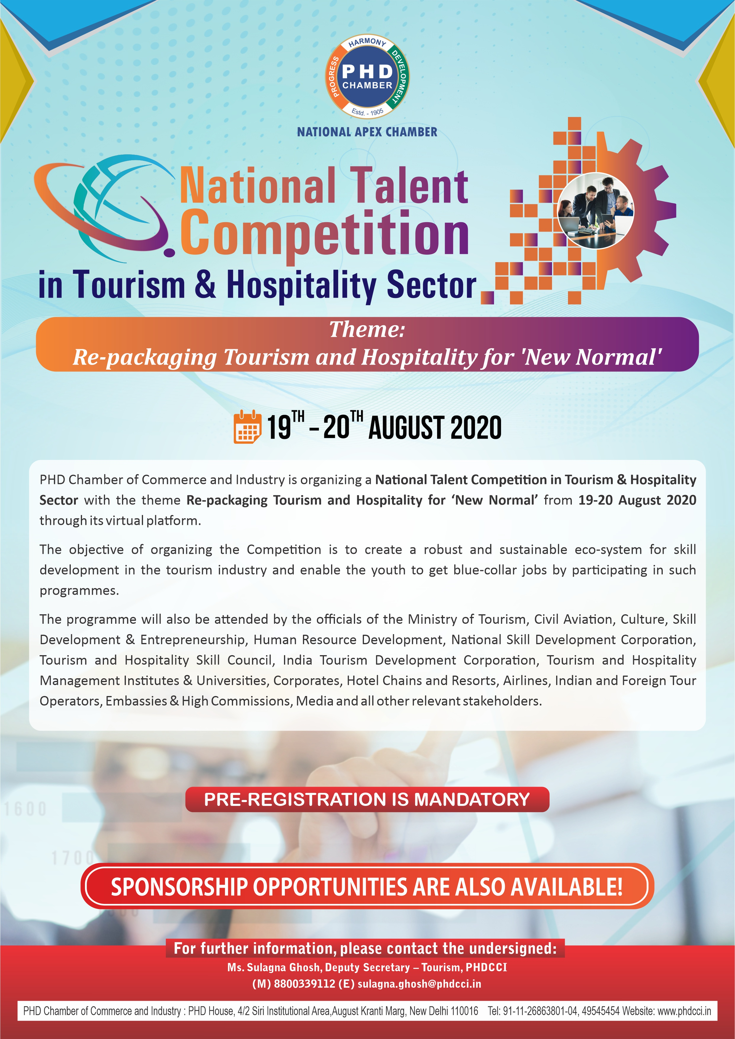 National Talent Competition in Tourism & Hospitality Sector