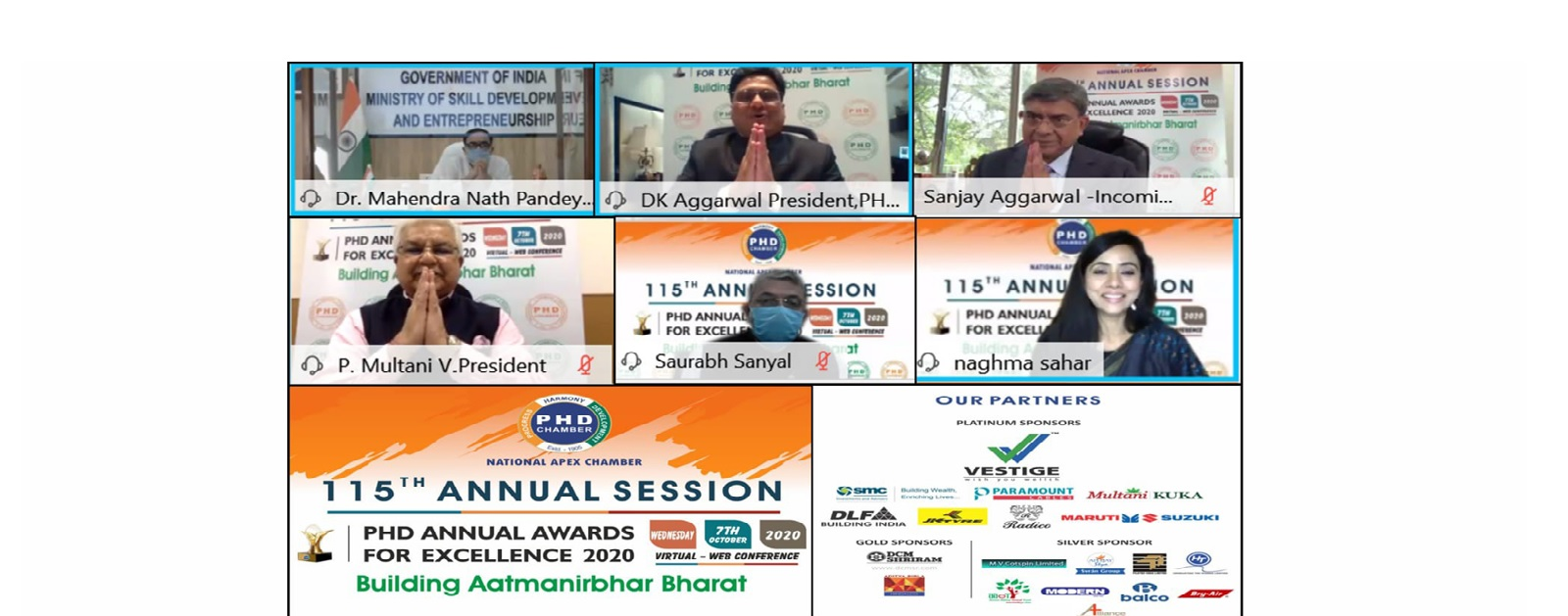 3rd Session – Skilling India for Aatmanirbhar Bharat