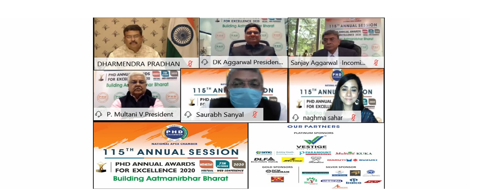 4th Session – Building Aatmanirbhar Bharat
