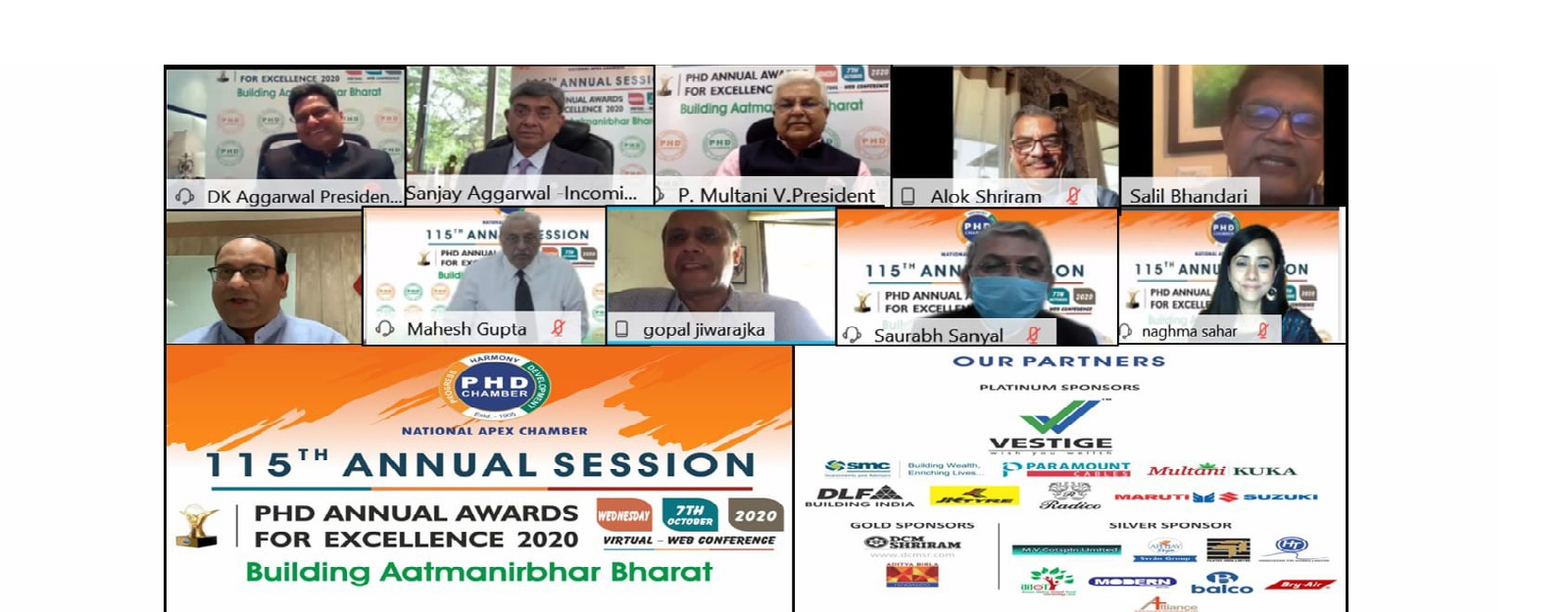 5th Session – Industry Perspective on Building Aatmanirbhar Bharat