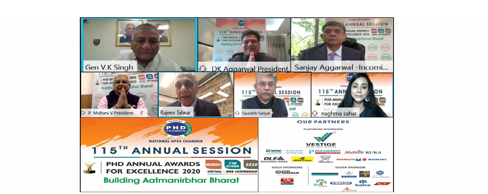 Inaugural Session and PHD Annual Awards for Excellence 2020