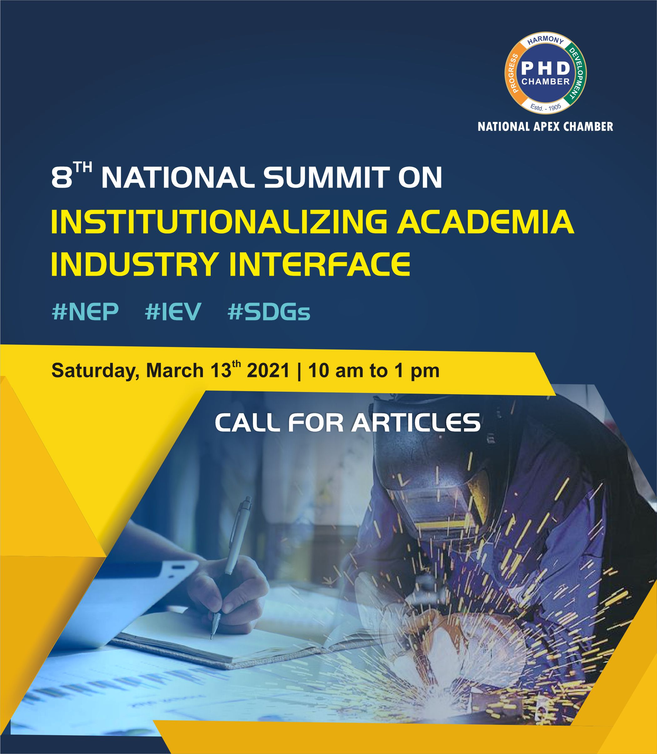 8th National Summit on Institutionalizing Academia Industry
