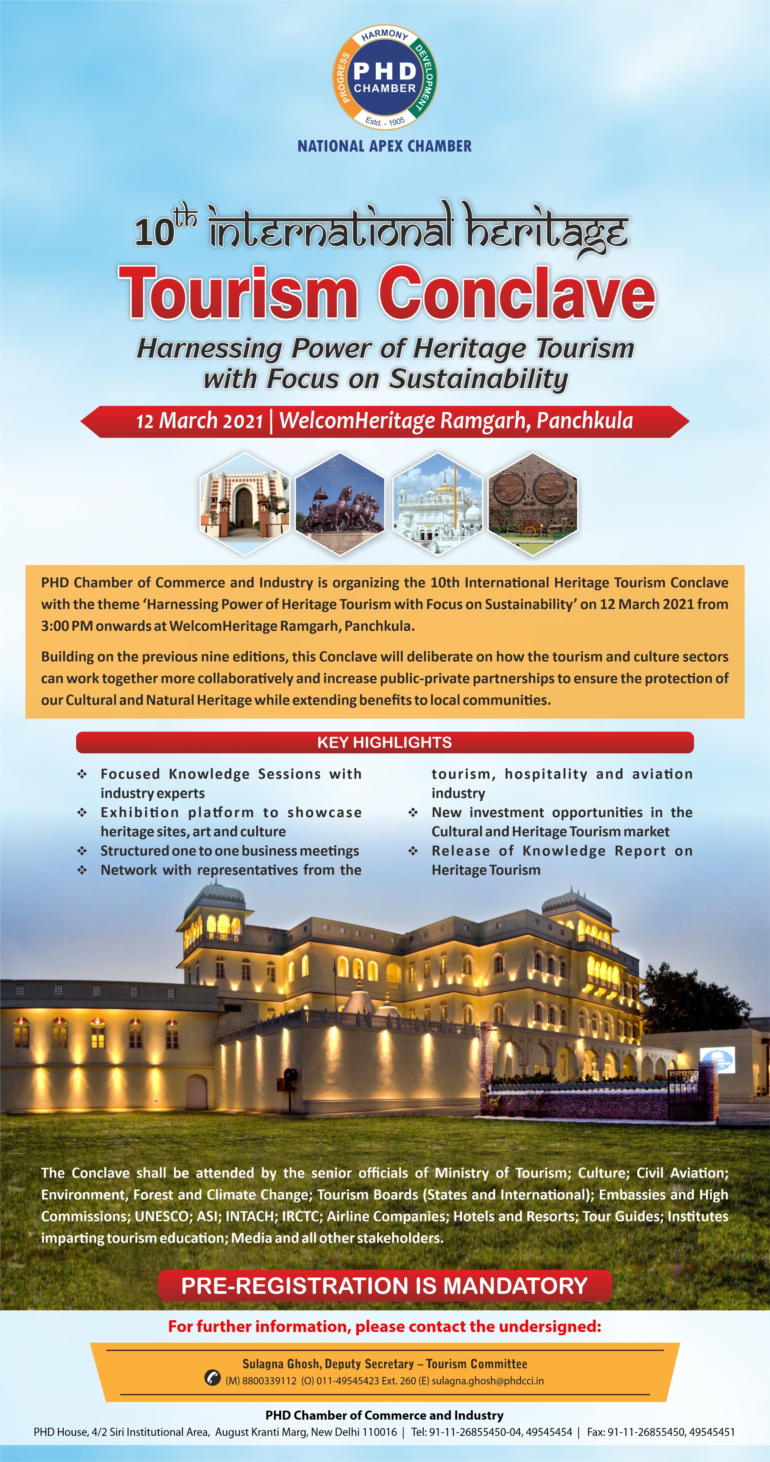 10th International Heritage Tourism Conclave