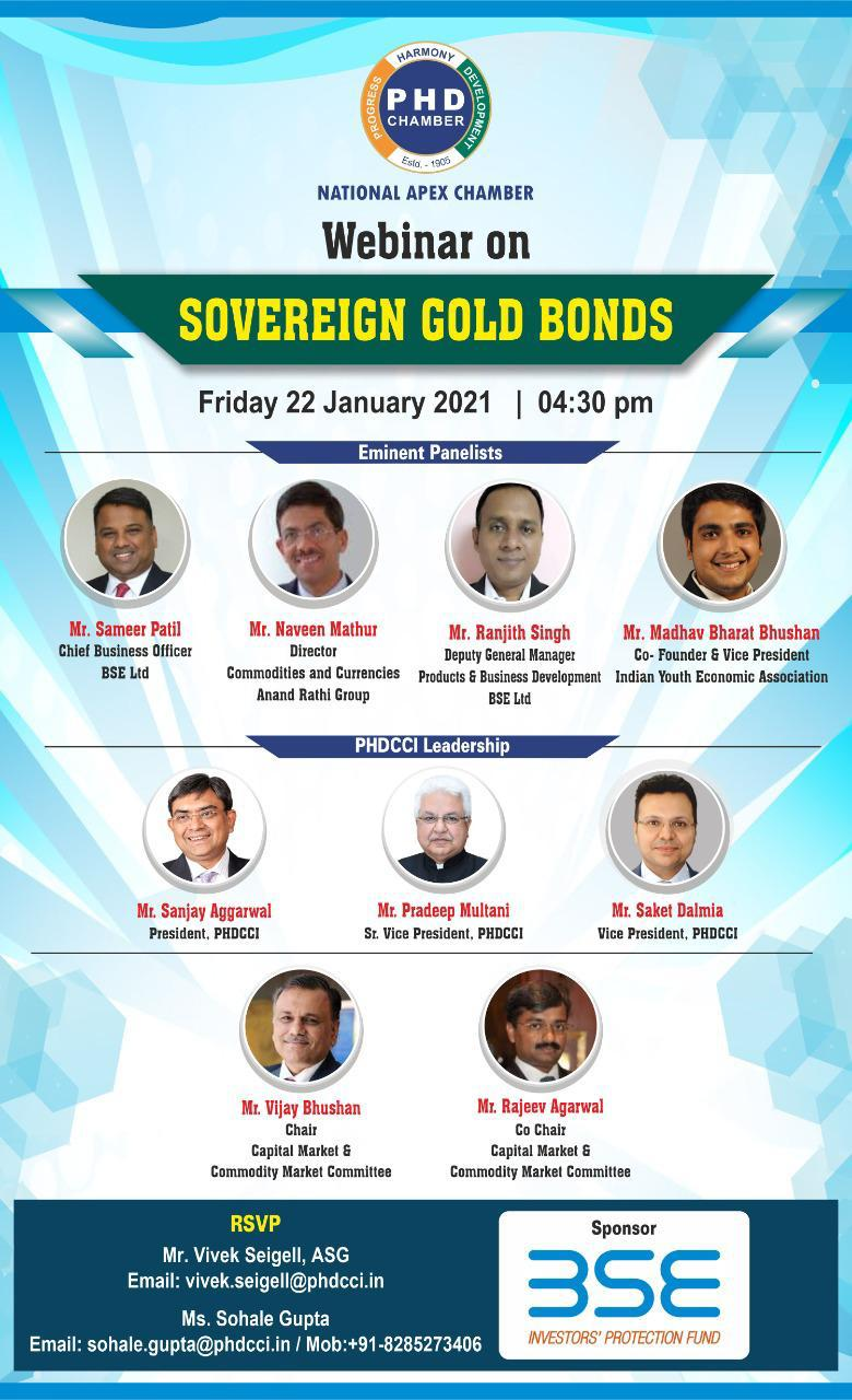 Webinar on Sovereign Gold Bonds