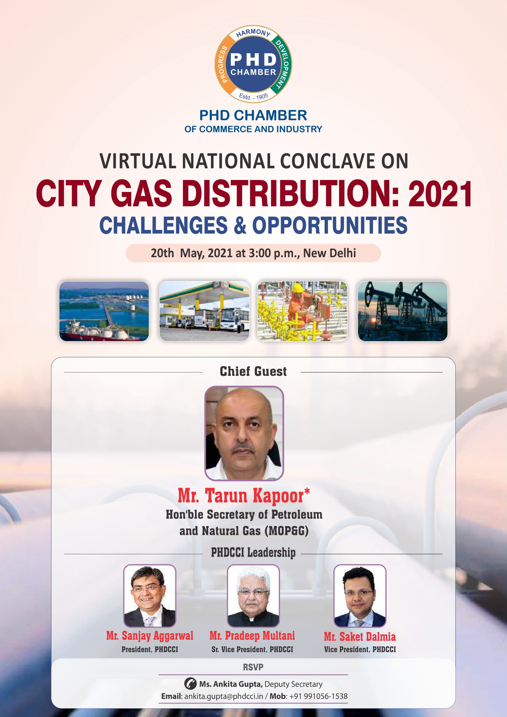Virtual National Conclave on City Gas Distribution – 2021